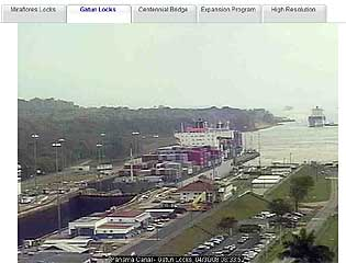 Panama Canal Live Cams