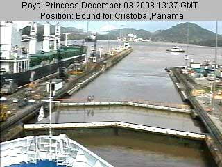 View from the Royal Cruise Ships Live Webcam